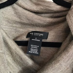 MM Couture Sweaters - MM Couture by Miss Me Cowl Neck Sweater